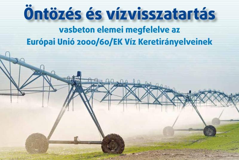 Öntözés és vízvisszatartás prospektus