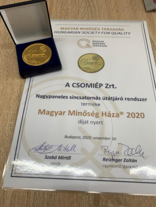 Magyar Minőség Háza 2020